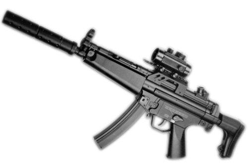 N&B Metall Softair Gewehr Elektrisch BT5 A5