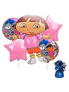 Dora Birthday Balloon Kit