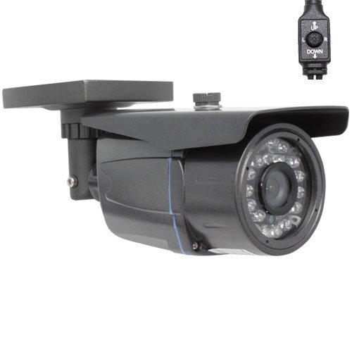 Gw Security Professional 1/3-Inch Sony Effio Ccd 700Tvl Outdoor Security Camera - 700 Tv Lines, 3.6Mm Wide Angle Lens