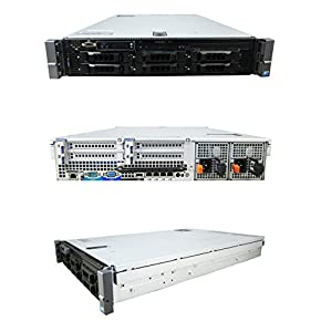 Mid-Level Enterprise DELL PE R710 2 x 2.93Ghz X5570 QC 72GB 8x 300GB 10K SAS (Certified Refurbished)