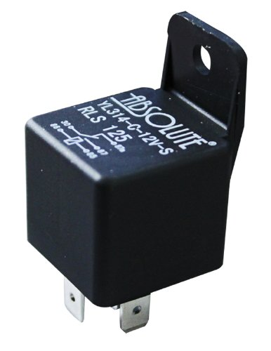 absolute rls125 12 vcd automotive relay spdt 30 40a