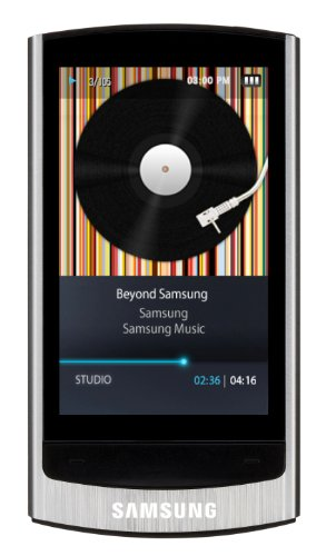 Samsung YP-R1 8GB MP3 Player (Silver)
