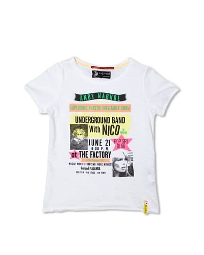 Pepe Jeans London Camiseta Bardot Blanco