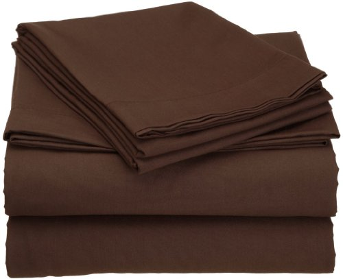Duvet Cover King Chocolate Brown