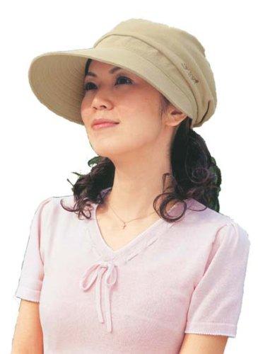 酒井法子プロデュース PPrikorino 「毎日帽子」 ベージュ 47743