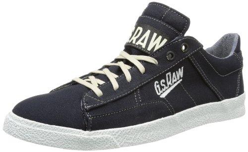 G-Star Mens RAMPART Jinks Denim Hi-Top Slippers Blue Blau (Herringbone Denim DHB) Size: 40