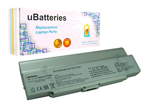 Click to buy UBatteries Laptop Battery Sony VAIO VGN-AR770ND - 9 Cell, 6600mah (Silver) - From only $55.07