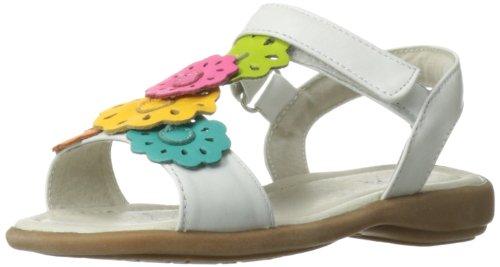 Toddler Girl White Sandals front-1052362