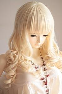 Liz Wig HOT Blonde Heat Friendly Long Curly Wave Princess Cosplay Party Lolita Hair Wig 26'' 65cm