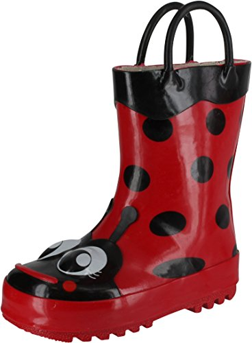 Western Chief Ladybug Rain Boot (Toddler/Little Kid/Big Kid),Red,7 M Us Toddler front-988605