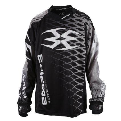 Empire Paintball Contact Zero F5 Jersey - Black/Grey - 3XL