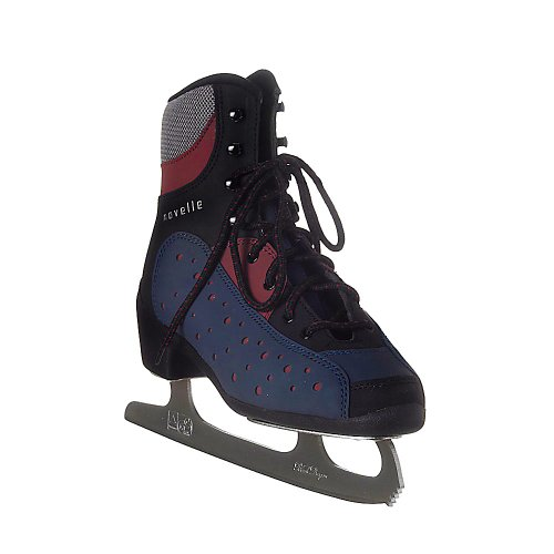 Sico-skate-statuette-de-modification-de-patins--glace-pour-adulte-senior-soft-boot-Multicolore-Bleu