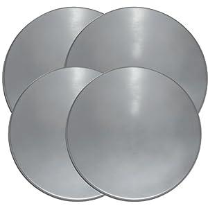Range Kleen 550-4 Stainless Steel Round Burner Kovers