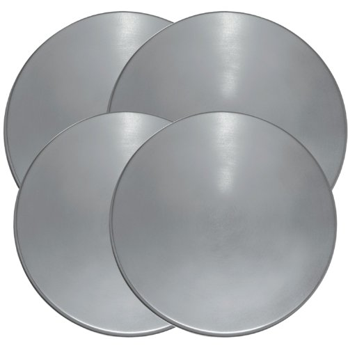 Range Kleen 550-4 Stainless Steel Round Burner Kovers (Stainless Steel Range Electric compare prices)