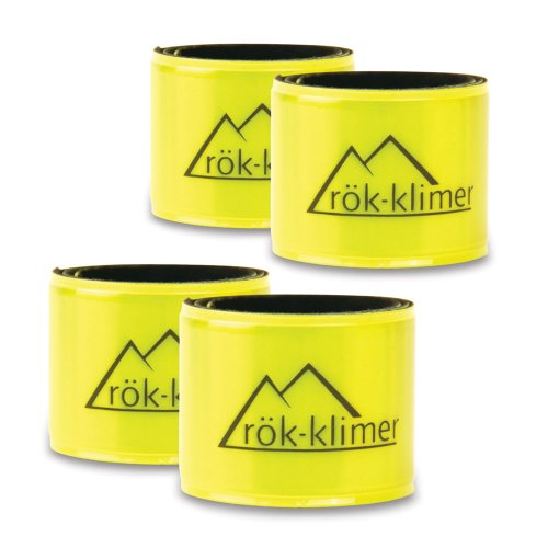 HandStands Rok-klimer Reflective Snap Bands (4 pack)