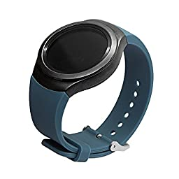 V-MORO® Samsung Gear S2 Band, Samsung Smartwatch Replacement Band for Samsung Gear S2 (Slate)