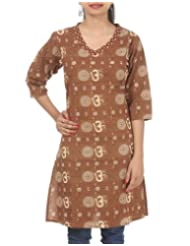 Rajrang Women's Wear Cotton Hand BLock Printed Print Size S