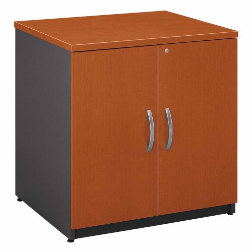 Bush Furniture Series C Auburn Maple Storage Cabinet 30-Inch