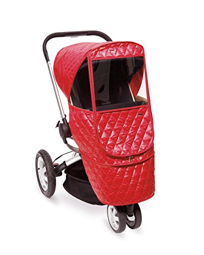 Manito Castle Beta Stroller Weather Shield (Red)