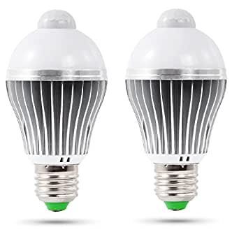 led light bulb ithird 5w a19 led motion sensor light bulb. Black Bedroom Furniture Sets. Home Design Ideas