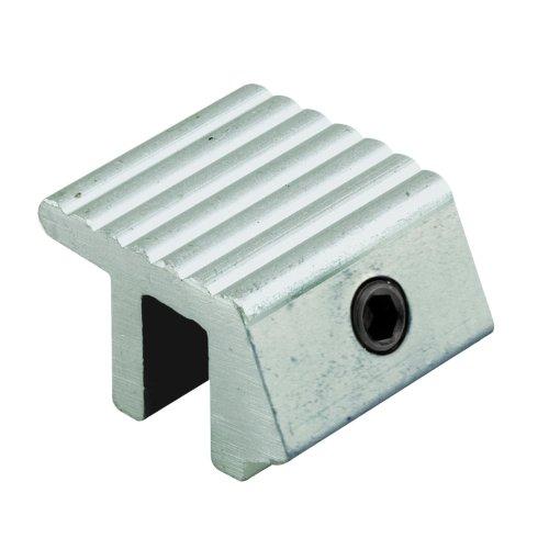 Prime-Line Products U 9810 Sliding Window Lock, Tamper Resistant, Aluminum Finish front-759658