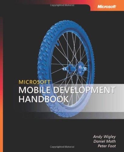 Microsoft® Mobile Development Handbook (Developer Reference)