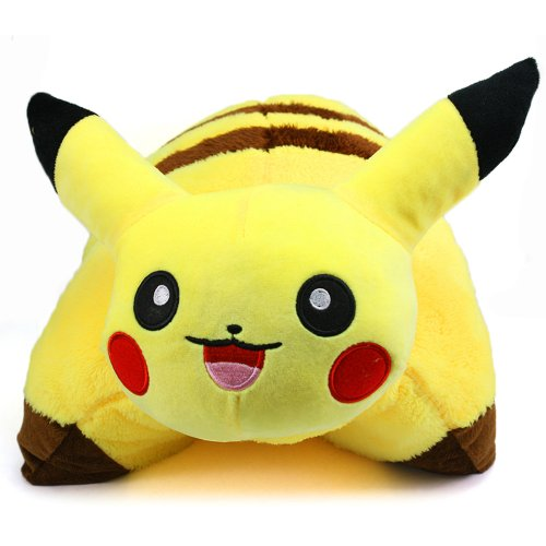 Neverland 42 x 33 cm/ 16.5 x 13 in Decorative Pillow Pet Cushion Pokemon Pikachu Plush Doll