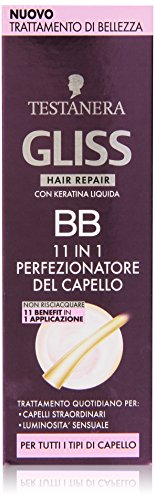 Testanera - Gliss Hair Repair , 11 in I Perfezionatore Del Capello - 50 ml