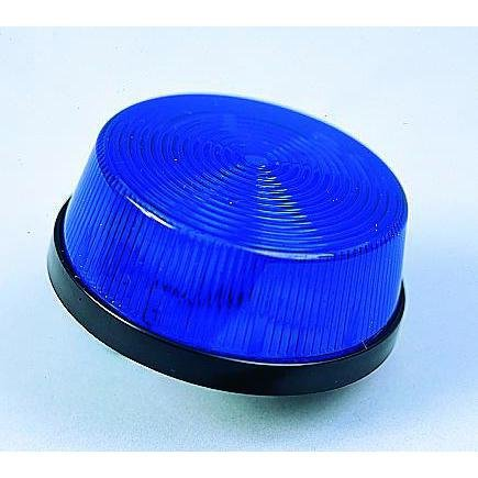Low Profile Xenon Strobe Light - Blue-2Pack