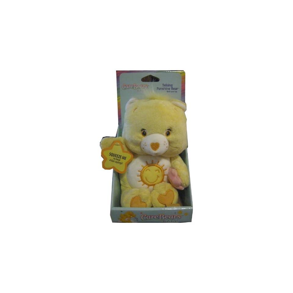 10 Talking Funshine Bear   Care Bears Baby