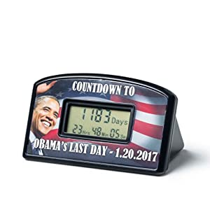 Big Mouth Toys Countdown Clock & Timer - Obama's Last Day 1-20-17 by Big Mouth Toys