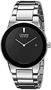Citizen Eco-Drive Men's AU1060-51E Axiom Silver-Tone Stainless Steel Watch
