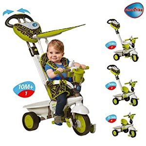 Smart Trike Dream 4 In 1 Childrens Tricycle Green Amazon