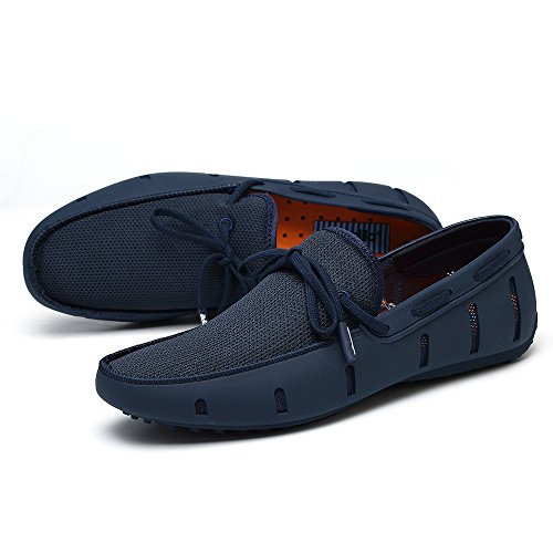 08. Aleader Men's Lace-up Loafers Swim Shoes