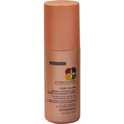 PUREOLOGY by Pureology PURE VOLUME INSTANT LEVITATION MIST FOR FINE COLOR HAIR 4.9 OZ for UNISEX by Pureology PURE VOLUME INSTANT LEVITATION MIST FOR FINE COLOR HAIR