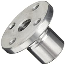 THK Lead Screw Nut Model DCM12, 22mm Outer Diameter x 30mm Length, 44mm Flange Diameter, Load Capacity: 881 Pound-Force (Pack of 5)