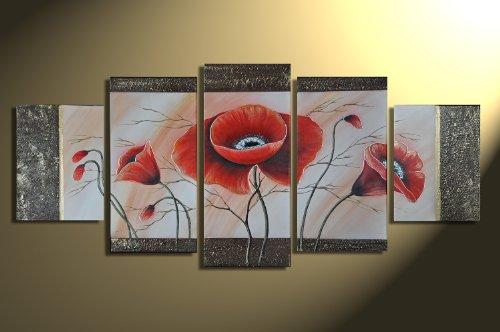 Barato poppy m1 5 imagen cuadros en lienzo for Cuadros decorativos baratos precio