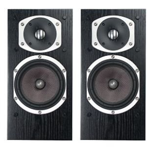 Energy Rc-10 2-Way Bookshelf Speaker, Black Ash Veneer (Pair)
