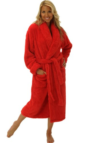 H206785. Del Rossa Women s Super Plush Microfiber Fleece Bathrobe Robe a0f67b70a