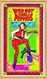 Poster - RED HOT CHILI PEPPERS - Natural Framed Limited Edition Concert Poster - by Bob M von Red Hot Chili Peppers
