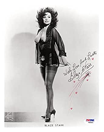 Blaze Starr Signed Autographed 8x10 Photo Burlesque Legend