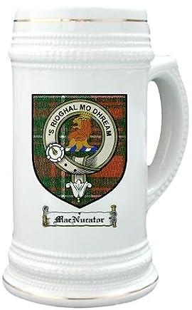 Macnucator Clan Crest / Clan Badge 22 oz. Stein Mug