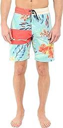 Volcom Men\'s 3 Quarta Slinger Boardshort, Bright Turquoise, 40