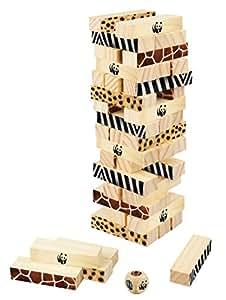 Terra Toys 29114-WWF-Wackelturm Miombo