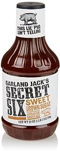 Kraft Garland Jack's BBQ Sauce, Sweet Brown Sugar, 18 Oz