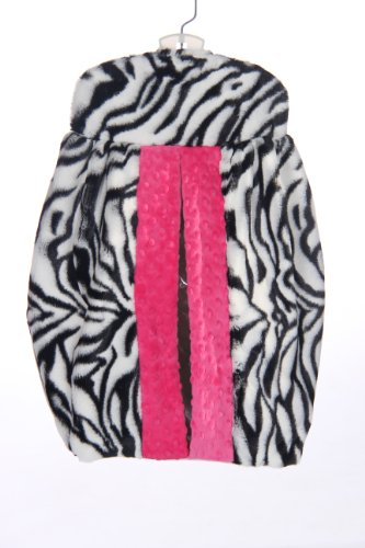 Baby Doll Zebra Minky Diaper Stacker