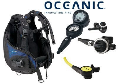 Oceanic Women's Hera BCD, Delta 4 Reg, Veo 2.0 Gauge Package sourcing is Oceanic