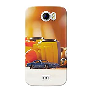 Mobile Back Cover For Micromax Canvas 2 (A110) (Printed Designer Case)