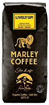 Lively Up! Espresso Roast Organic Blend - Whole Bean Coffee