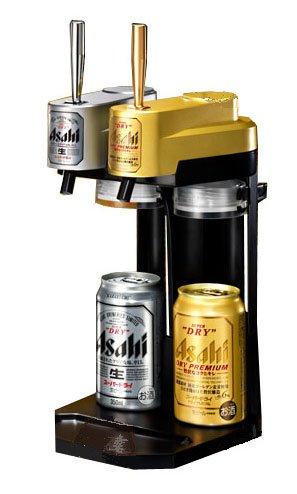 アサヒスーパードライ・ドライプレミアム ドライプレミアム Wコック缶サーバー (W175mm×H380mm×D220mm)